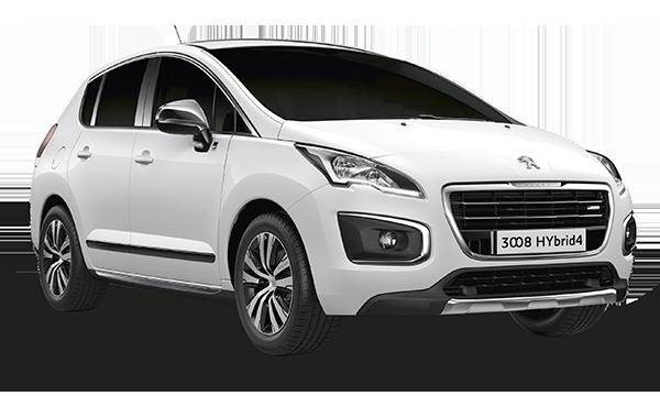 Peugeot 3008 Hybrid >> Hybrid4